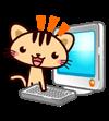 猫とパソコンイラスト幅100×111toraneko03_a_02.png