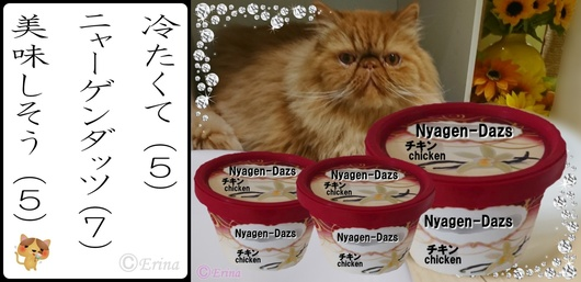 つ猫川柳ⒸErina冷たくてニャーゲンダッツ美味しそうとエポちゃん.jpg