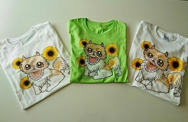 モコちゃんTシャツ3枚.JPG